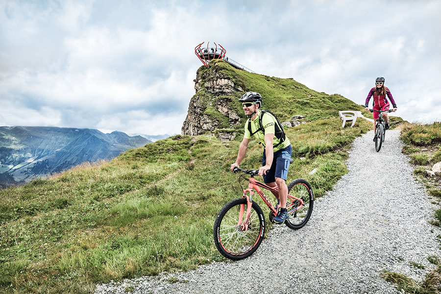 Mountain-biking & Road riding